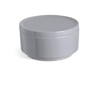 umbra 化粧品 コットン 収納 キャニスター チャコール STEP 2024000149