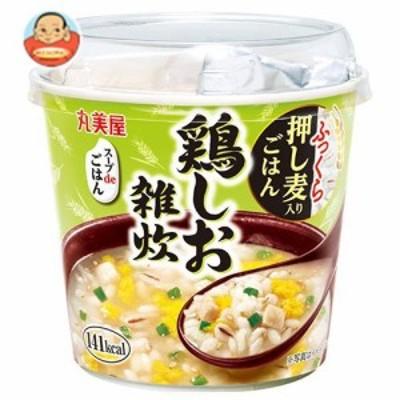 送料無料 丸美屋 スープdeごはん 鶏しお雑炊 70.3g×6個入