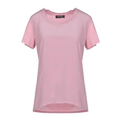 ツインセット シモーナ バルビエリ TWINSET T シャツ ピンク XS コットン 100% / シルク / ナイロン T シャツ