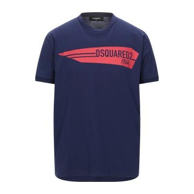 ディースクエアード DSQUARED2 T シャツ ダークブルー XS コットン 100% T シャツ