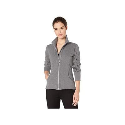 スケッチャーズ Snuggle Fleece Full Zip レディース コート アウター Charcoal