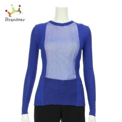 エリザベッタフランキ 長袖セーター サイズS レディース 新品未使用 ブルー系 ニット・セーター 新着 20200926