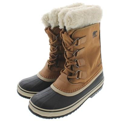 ソレル SOREL ウィメンズ ブーツ ウィンターカーニバル WINTER CARNIVAL キャメルブラウン NL3483-224