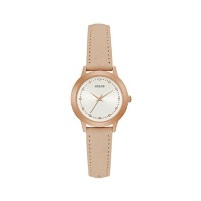 Guess Chelsea Womens Dress Analogue Rose Gold Round W0993L3 並行輸入品