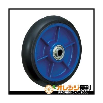 イノアック車輪 イノアック 低始動抵抗キャスター 車輪のみ Φ150 黒 シャフトΦ20 LR-150W-BK-20 【483-5204】