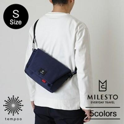 MILESTO Hutte メッセンジャーバッグS[MLS463] バッグ ショルダー バッグ メッセンジャー かばん マグネット 旅行 アウトドア ポケット