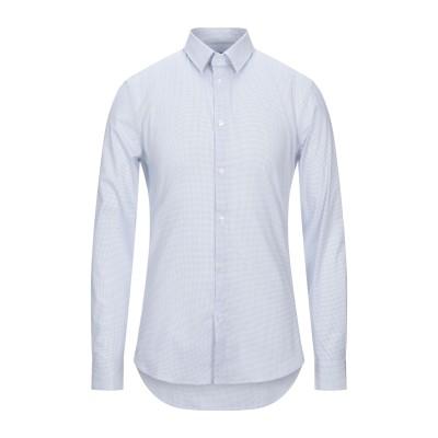 MARCIANO シャツ ブルー 39 コルベラ 97% / ポリウレタン 3% シャツ