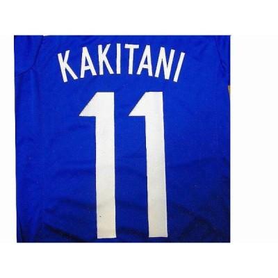 子供用 K042 日本代表HOME KAKITANI*11 柿谷青 14 ゲームシャツ パンツ付 ジュニア ユニフォーム