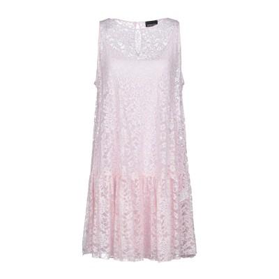 ERMANNO DI ERMANNO SCERVINO ミニワンピース&ドレス ピンク 40 レーヨン 100% ミニワンピース&ドレス