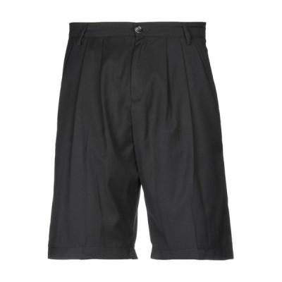 DONVICH ショートパンツ&バミューダパンツ ファッション  メンズファッション  ボトムス、パンツ  ショート、ハーフパンツ ブラック