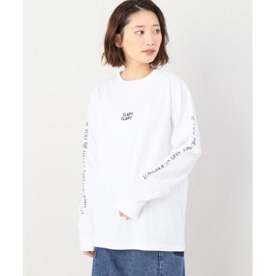 tシャツ Tシャツ 【LAUGHBE/ラフアンドビー】 CLAP CLAP LS TEE