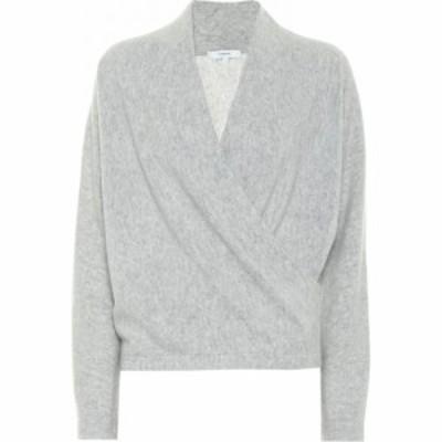 ヴィンス Vince レディース ニット・セーター トップス Cashmere Wrap Sweater Soft Grey