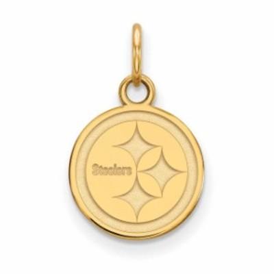 LogoArt ロゴアート アクセサリー ジュエリー Pittsburgh Steelers Gold-Plated Extra Small Logo Charm