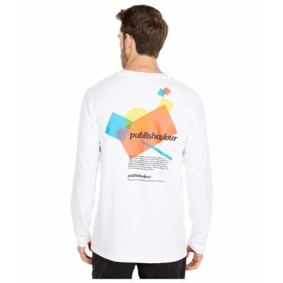 パブリッシュ シャツ トップス メンズ Myers Long Sleeve T-Shirt White