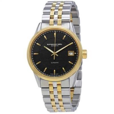 腕時計 レイモンドウイル メンズ Raymond Weil Freelancer Automatic Black Dial Men's Watch 2740-STP-20021