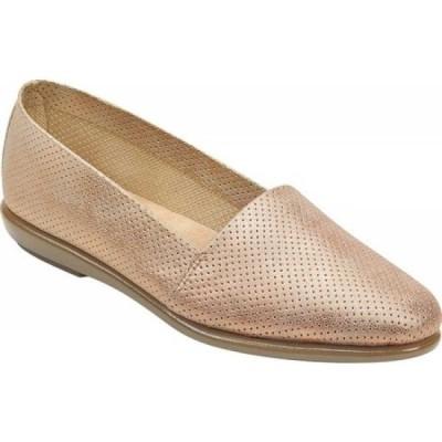 エアロソールズ Aerosoles レディース ローファー・オックスフォード シューズ・靴 Ms Softee Loafer Pink Metallic Faux