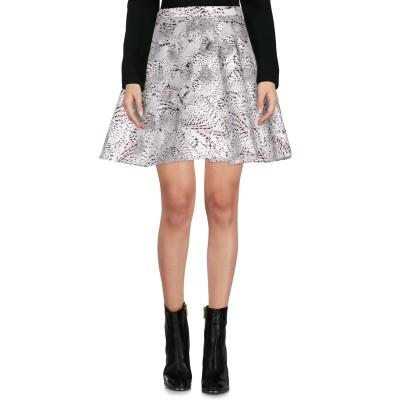 ELISABETTA FRANCHI GOLD ミニスカート ホワイト 44 ポリエステル 100% ミニスカート