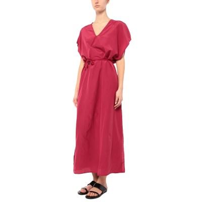 FISICO ビーチドレス ガーネット S シルク 52% / コットン 48% ビーチドレス