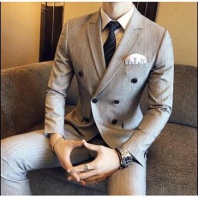 スリーピース 成人式 メンズスーツ 大きいサイズ 入学式 スリムスーツ 礼服 結婚式 細身 ストラップ 二次会 就職 卒業式 ビジネススーツ