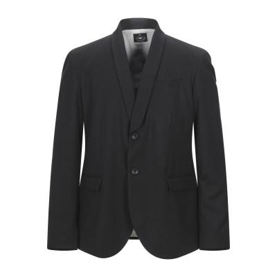 CHOICE NICOLA PELINGA テーラードジャケット ブラック 52 アクリル 41% / ポリエステル 32% / ウール 12% /