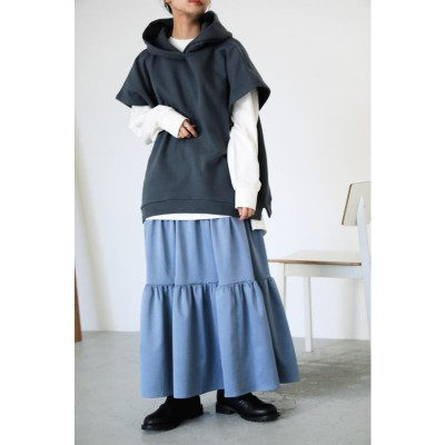 gather skirt BLU