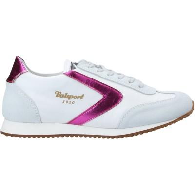 VALSPORT スニーカー&テニスシューズ(ローカット) ホワイト 36 紡績繊維 / 革 スニーカー&テニスシューズ(ローカット)