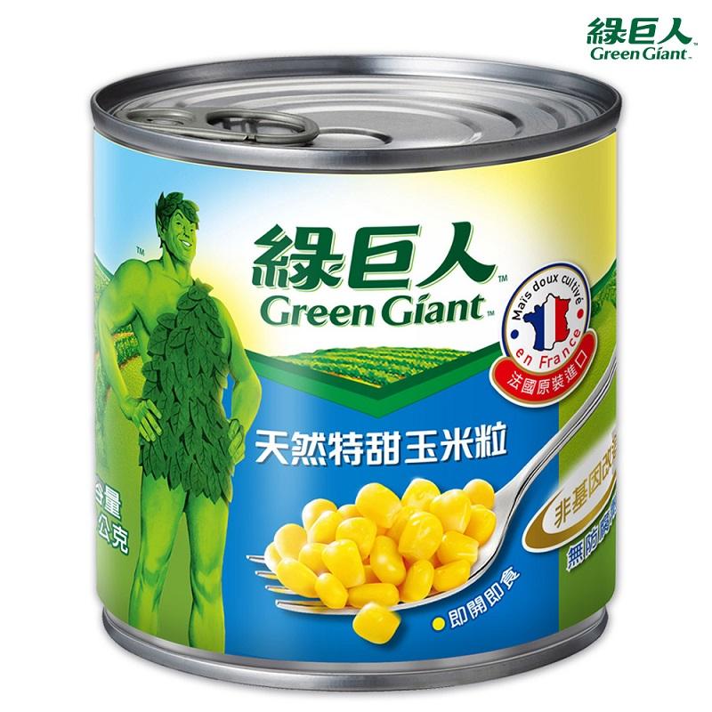 綠巨人天然特甜玉米粒