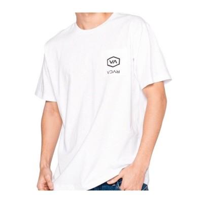 20%OFF【RVCA】(ルーカ)メンズ POCKET HEX RVCA SS Tシャツ BA041219
