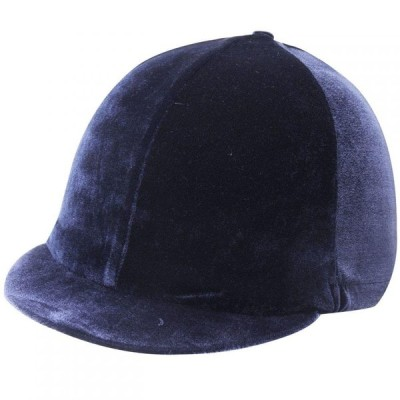 シャイヤー Shires メンズ キャップ スカルキャップ 帽子 Velour Skull Cap Cover Navy