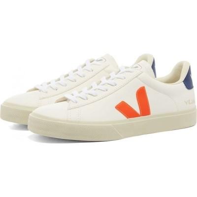 ヴェジャ Veja メンズ スニーカー シューズ・靴 Campo Sneaker White/Fluo Orange