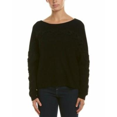 ファッション トップス White + Warren Dolman Cashmere Sweater