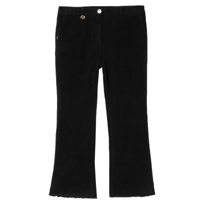 WHITE SAND 88 パンツ ブラック 46 コットン 97% / ポリウレタン 3% パンツ
