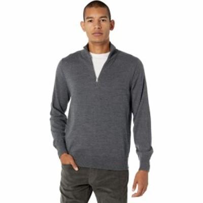 ジェイクルー J.Crew メンズ ニット・セーター トップス Washable Merino Wool Half-Zip Sweater Heather Gravel