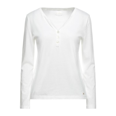 DES PETITS HAUTS T シャツ アイボリー 2 コットン 50% / レーヨン 50% T シャツ
