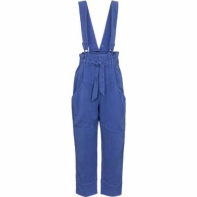 イザベル マラン Isabel Marant レディース オーバーオール ボトムス・パンツ fineba wide-leg overalls Electric Blue