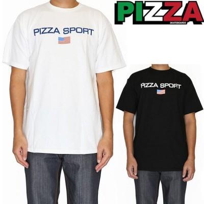 PIZZA SKATEBOARDS ピザ スケートボード Tシャツ メンズ 半袖 Pizza Sport Tee