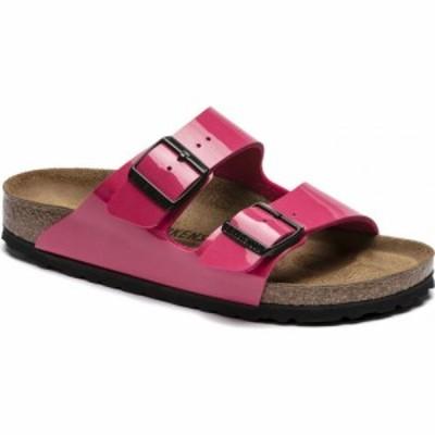 ビルケンシュトック Birkenstock レディース サンダル・ミュール シューズ・靴 Arizona Sandals Patent Fuchsia Tulip Birko-Flor
