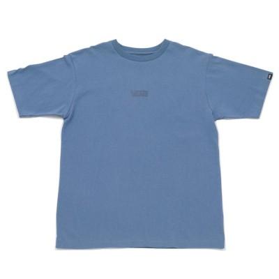 【VANS】 ヴァンズ M EARTH COLOR S/STEE ショートスリーブ 121R1010100 SAX L ブルー