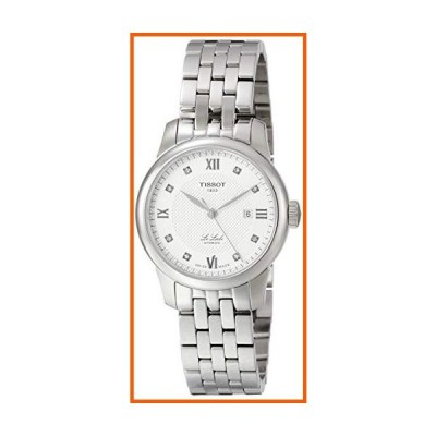 Tissot Le Locle Automatic Diamond Silver Dial Ladies Watch T006.207.11.036.00