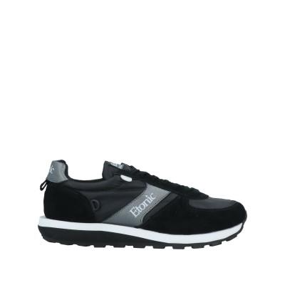 ETONIC スニーカー&テニスシューズ(ローカット) ブラック 46 革 / 紡績繊維 スニーカー&テニスシューズ(ローカット)