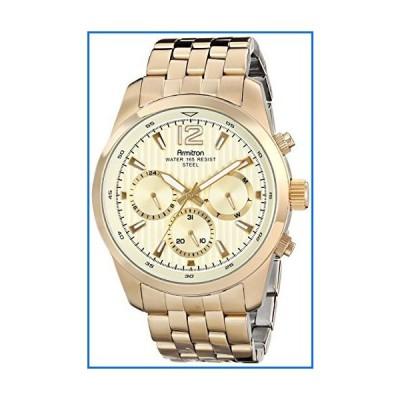 Armitron Men's 20/4991CHGP Multi-Function Gold-Tone Bracelet Watch[並行輸入品]