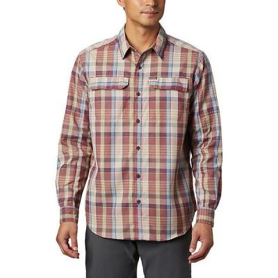 (取寄)コロンビア メンズ シルバー リッジ 2.0 プレイド ロングスリーブ シャツ Columbia Men's Silver Ridge 2.0 Plaid LS Shirt Red Jasper Multi P 送料無料