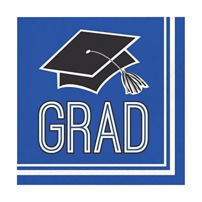 Creative Converting Congrats Grad Blue Luncheon Napkins (36 ct)