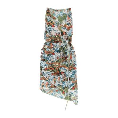 ディースクエアード DSQUARED2 ミニワンピース&ドレス グリーン 38 ポリエステル 100% ミニワンピース&ドレス