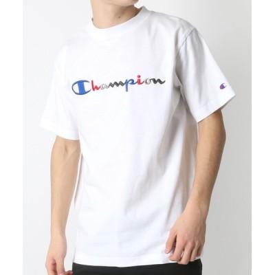 tシャツ Tシャツ Champion/チャンピオン カラーロゴ刺繍 クルーネック Tシャツ