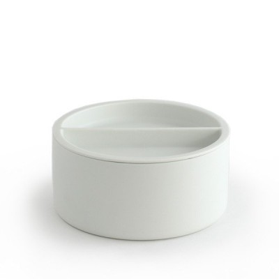 2016  SF 010 コンテナ(SIZE:L ホワイト) arita 有田焼 Shigeki Fujishiro 藤城 茂貴 Container White  18908