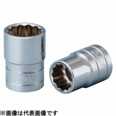 KTC(京都機械工具) 12.7sq. ソケット(十二角)インチ B4-7/16W