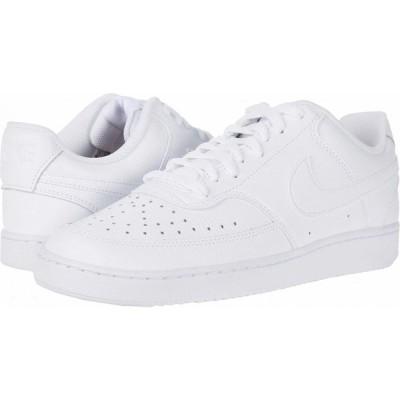 ナイキ Nike メンズ スニーカー シューズ・靴 Court Vision Lo White/White/Black