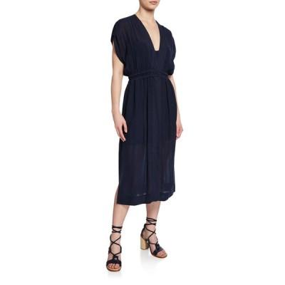ラグアンドボーン レディース ワンピース トップス Amelie V-Neck Short-Sleeve Dress
