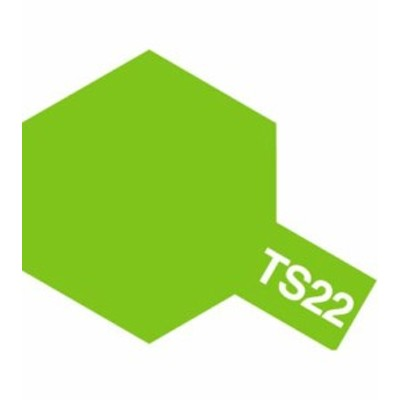 タミヤカラースプレー TS22 ライトグリーン 《塗料》